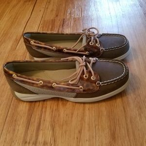 Sperry Top- Sider Laguna Tortoise Brown Boat Shoes